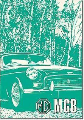 Mgb Us Owner Handbook
