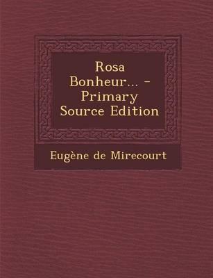 Rosa Bonheur...