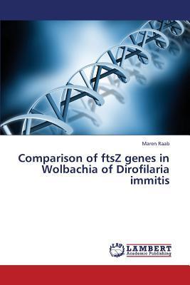Comparison of ftsZ genes in Wolbachia of Dirofilaria immitis