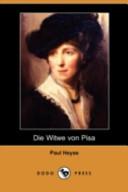 Die Witwe Von Pisa(Dodo Press)