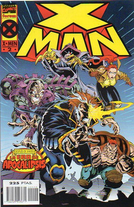 X-Man Vol.1 #2 (de 4)