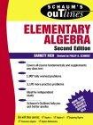 Schaum's Outline of Elementary Algebra