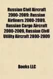 Russian Civil Aircraft 2000-2009