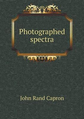 Photographed Spectra