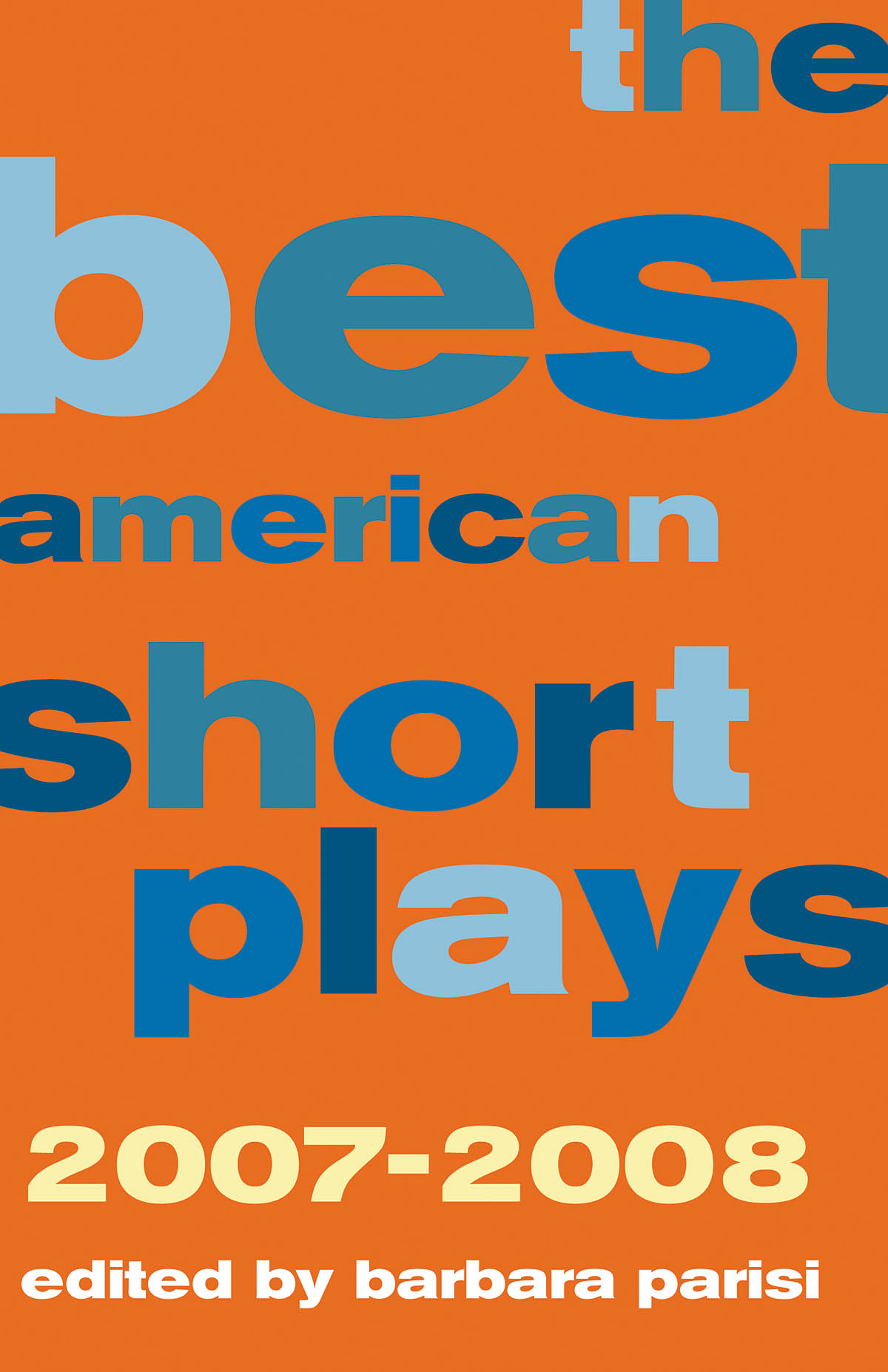 The Best American Short Plays 2007-2008