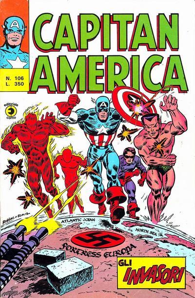 Capitan America n. 106