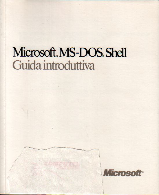 Microsoft MS-DOS She...