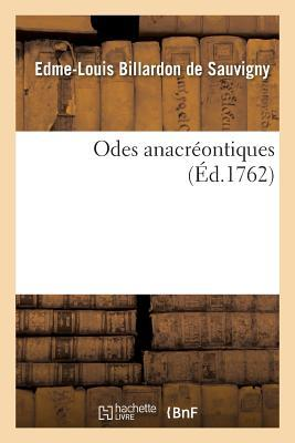 Odes Anacreontiques