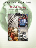 Annual Editions: World History: 1500 to the Present v. 2