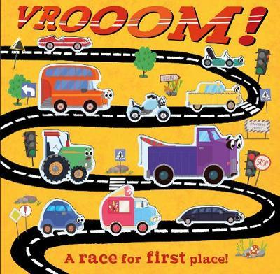 Vrooom! A race for first place!