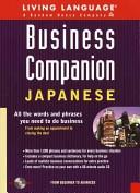 Business companion, Japanese