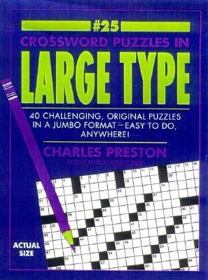 Crossword Puzzles in Large Type 25