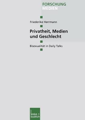 Privatheit, Medien Und Geschlecht