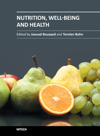 Nutrition, Well-Being and Health