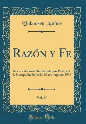 Razón y Fe, Vol. 60