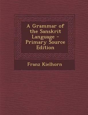 A Grammar of the San...