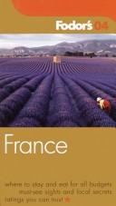 Fodor's France 2004