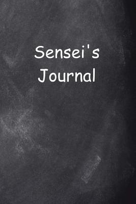 Sensei's Journal Chalkboard Design