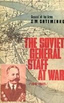 The Soviet General Staff at War