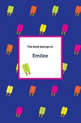 Etchbooks Emilee, Popsicle, Wide Rule