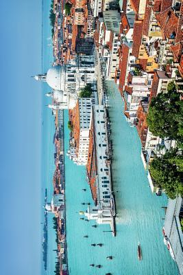 Beautiful View of Grand Canal in Venice Italy Journal