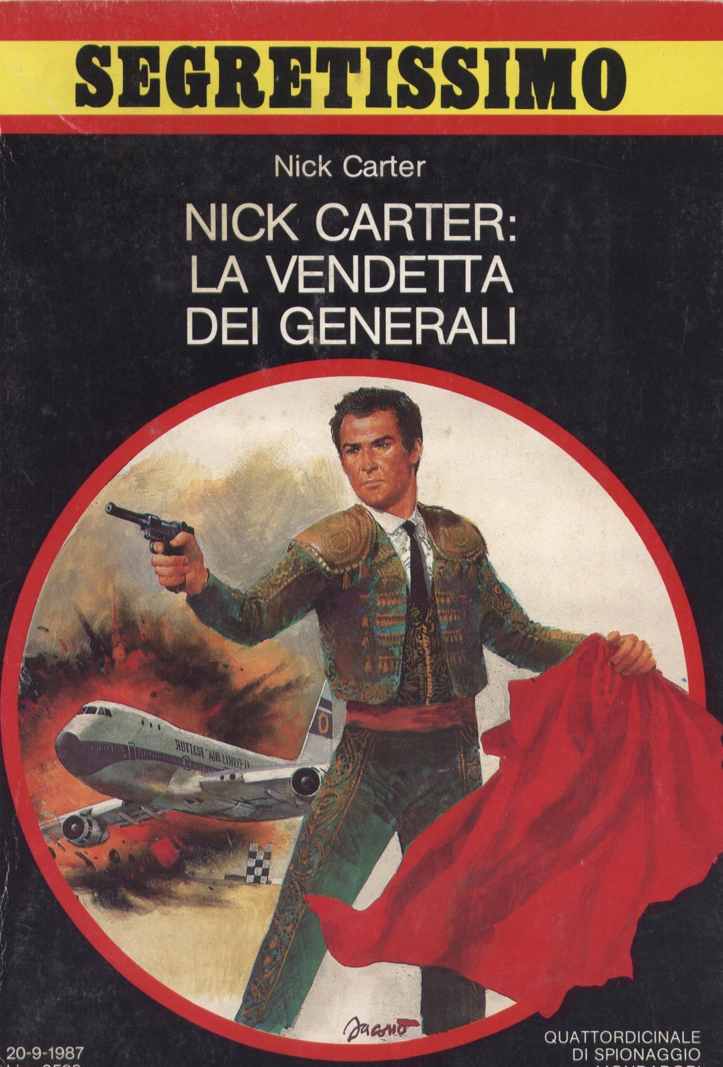 Nick Carter: la vendetta dei generali
