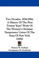 Two Decades, 1874-1894