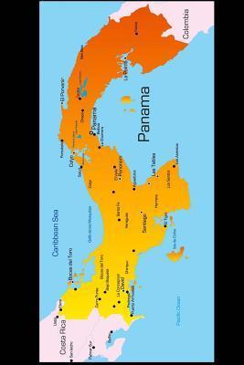 Map of Panama Journal