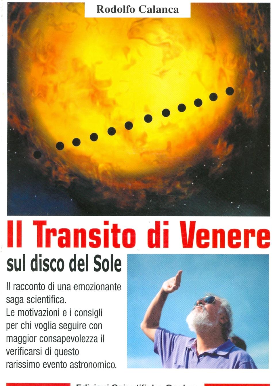 Il transito di Venere sul disco del sole