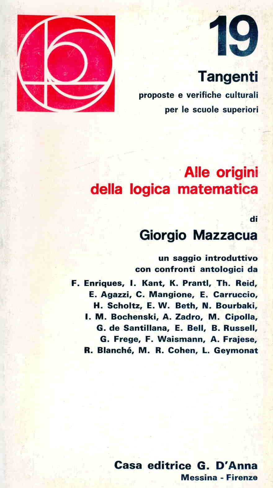 Alle origini della logica matematica