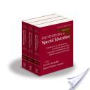 Encyclopedia of Special Education, 3 Volume Set