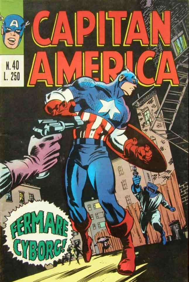 Capitan America n. 40