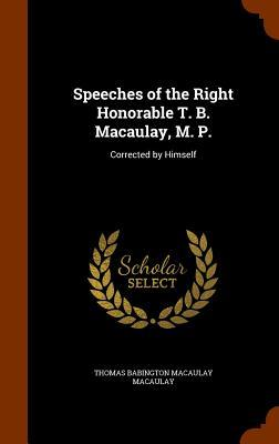 Speeches of the Righ...