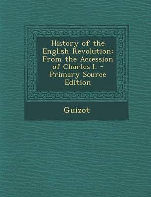 History of the English Revolution