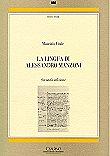 La lingua di Alessandro Manzoni