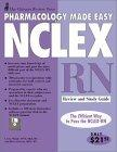 Chicago Review Press Pharmacology Made Easy for NCLEX-RN Review and Study Guide