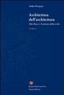 Architettura dell'architettura. Aldo Rossi e il primato della realtà