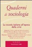 Quaderni di sociologia, 61