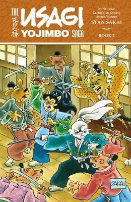 The Usagi Yojimbo Saga 5