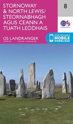 Landranger (8) Stornoway & North Lewis