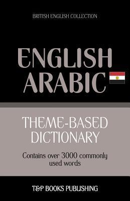Theme-based dictionary British English-Egyptian Arabic - 3000 words
