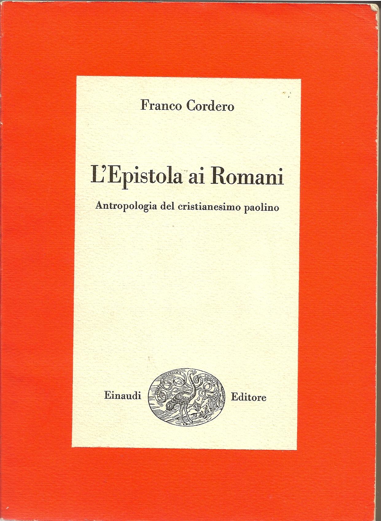L' epistola ai roman...