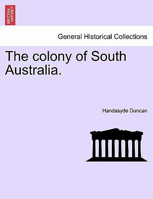 The colony of South Australia