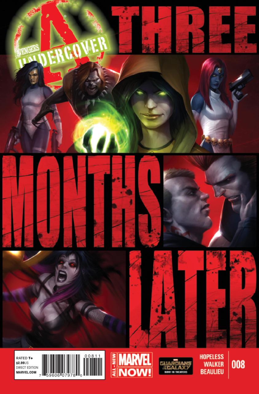 Avengers Undercover Vol.1 #8