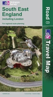 South East England Including London (OS Travel Map - Road Map)