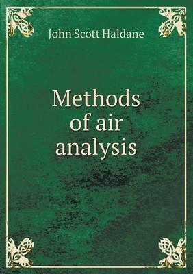 Methods of Air Analysis