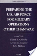 Preparing the U.S. Air Force for Military Operations Other Than War