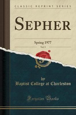 Sepher, Vol. 9