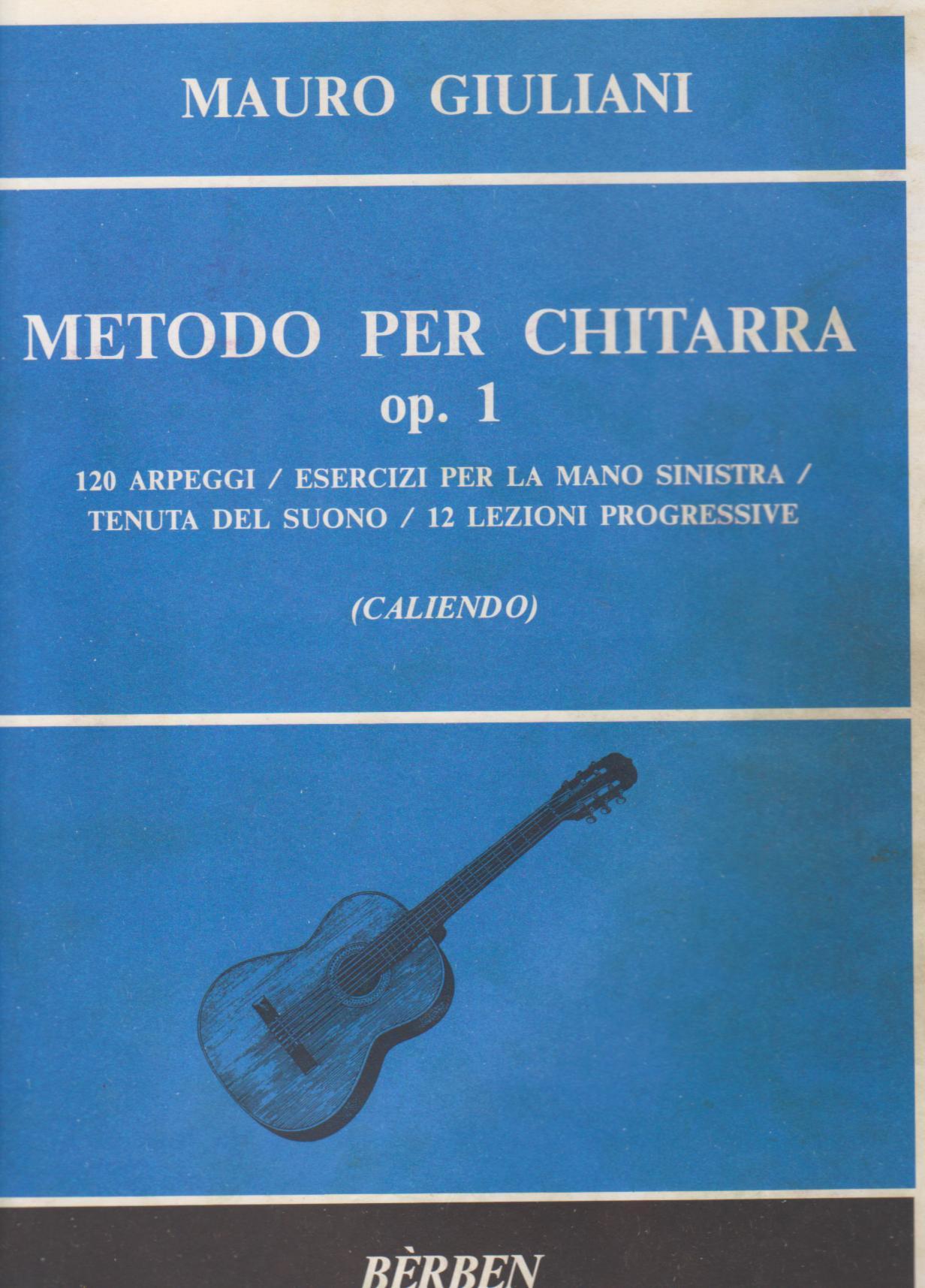 Metodo per Chitarra, op. 1