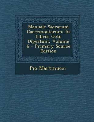 Manuale Sacrarum Caeremoniarum